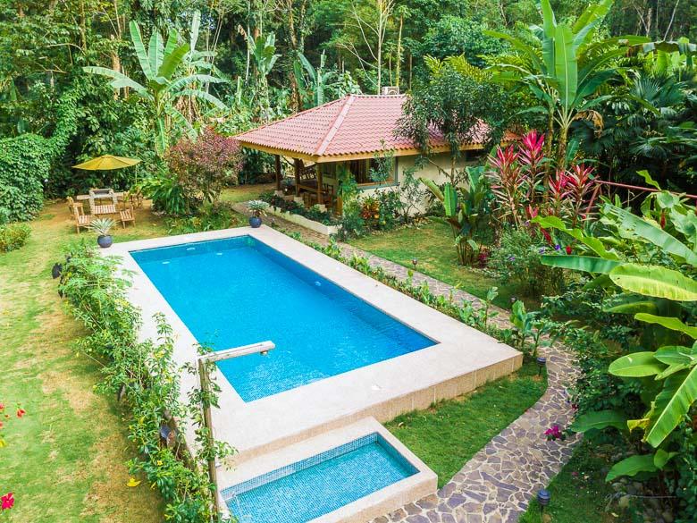 Casa con Piscina en Punta Uva Puerto Viejo