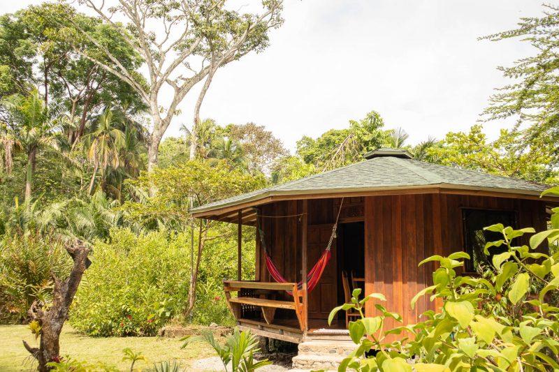 Bungalows Aché en Cahuita junto al Parque Nacional Cahuita