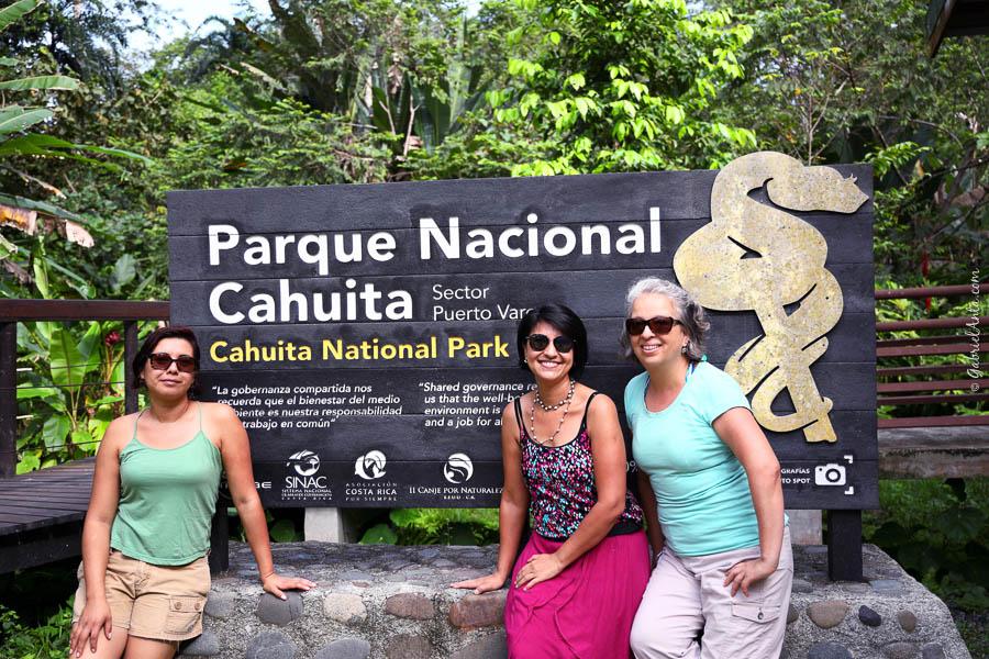 Parque Nacional Cahuita - Puerto Vargas